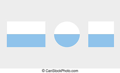 Flag Illustrations of the country of San Marino