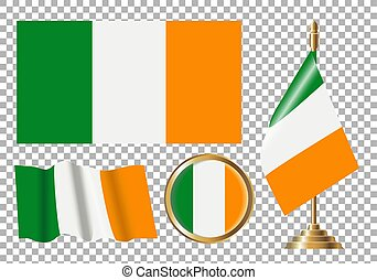 flag-ireland-green-white-orange-sports-politics