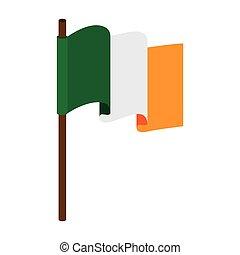 flag irish ireland