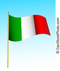 Flag - Italy -2