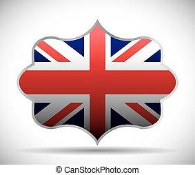 flag london england design - flag frame london england...