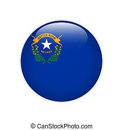 Flag Nevada button