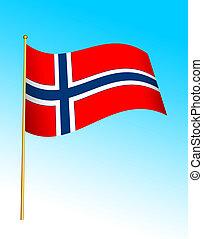 Flag - Norway 2