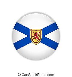 Flag Nova Scotia button