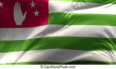 Flag of Abkhazia 3D Loop