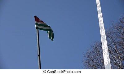 Flag of Abkhazia Republic