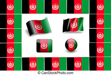 flag of afganistan