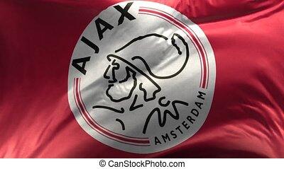 Flag of Ajax Loop 3D