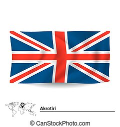 Flag of Akrotiri