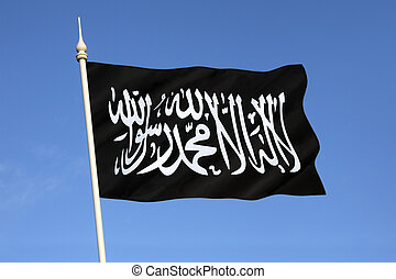 Flag of Al-Qaeda - Al-Qaeda is a global militant Islamist ...