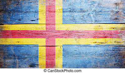 Flag of Aland