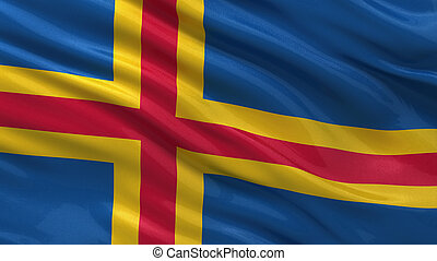 Flag of Aland