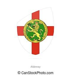 Flag of Alderney.