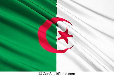 Flag of Algeria - North Africa