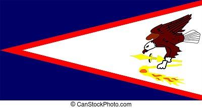 Flag Of American Samoa