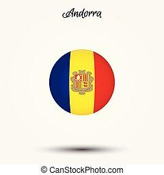 Flag of Andorra icon