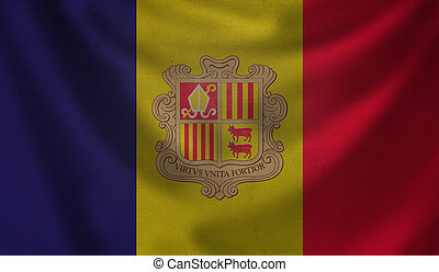 Flag of Andorra.