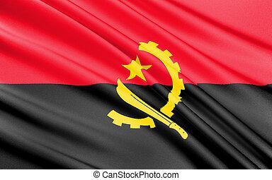 Flag of Angola - Africa