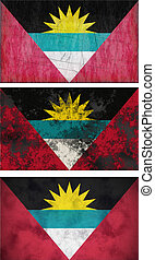 Flag of antigua barbuda