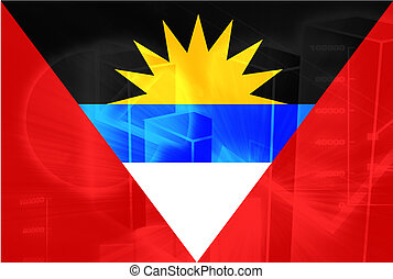 Flag of Antigua