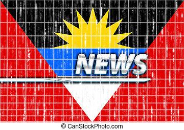 Flag of Antigua news