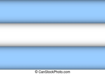 Flag of Argentina.
