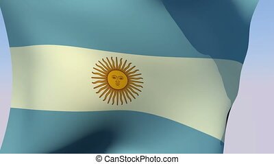 Flag of Argentina - Flags of the world collection