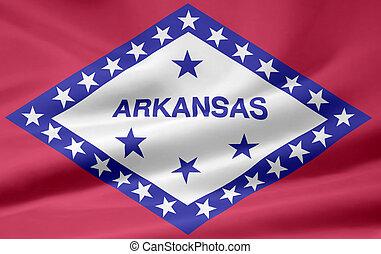 Flag of Arkansas - Very large flag of Arkansas