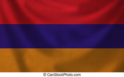 Flag of Armenia.