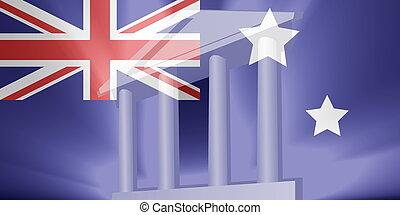 Flag of Australia government
