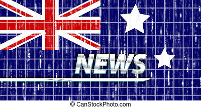 Flag of Australia news