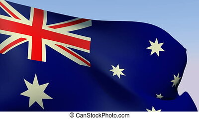 Flag of Australia - Flags of the world collection