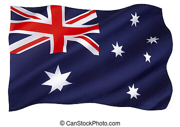 Flag of Australia - The national flag of Australia - Adopted...