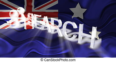 Flag of Australia wavy search
