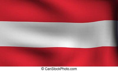 flag of austria background