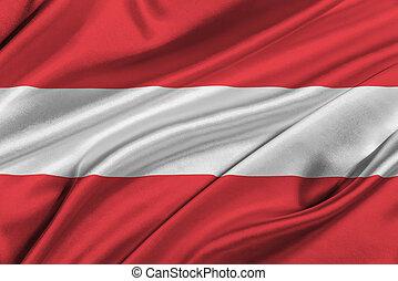 Flag of Austria.