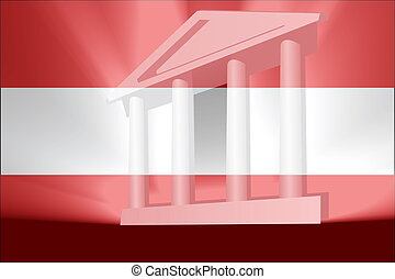 Flag of Austria government
