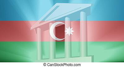 Flag of Azerbaijan government