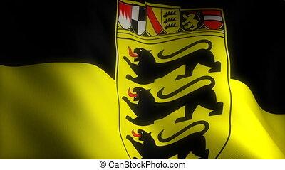 Flag of Baden-Wurttemberg