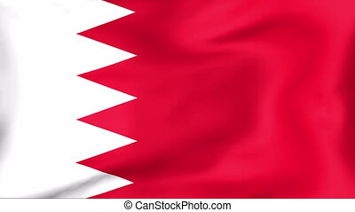 Flag Of Bahrain - Developing the flag of Bahrain