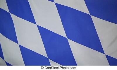 Flag of Bavaria, Germany