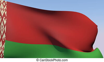 Flag of Belarus - Flags of the world collection - Belarus