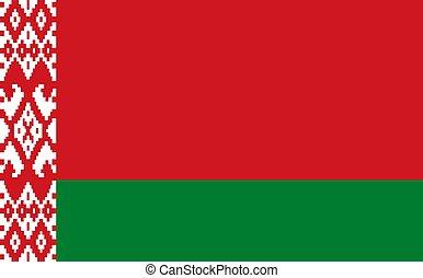 flag of Belarus Republic