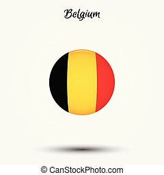 Flag of Belgium icon