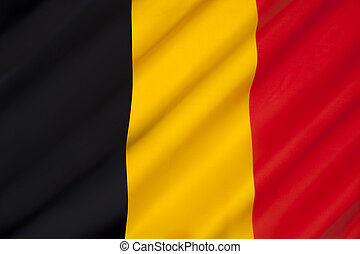 Flag of Belgium - The colors were taken from the coat of ...