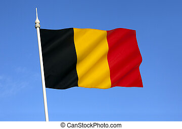 Flag of Belgium - The national flag of Belgium.
