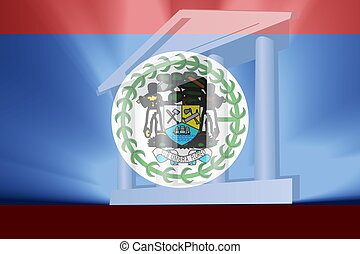Flag of Belize government
