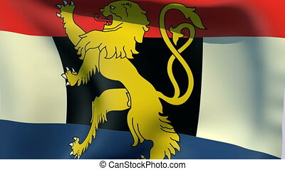 Flag of Benelux - Flags of the world collection