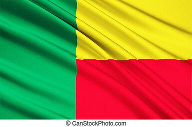 Flag of Benin - Africa
