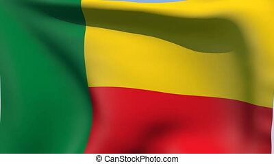 Flag of Benin - Flags of the world collection - Benin